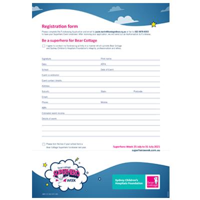 2021 Registration Form